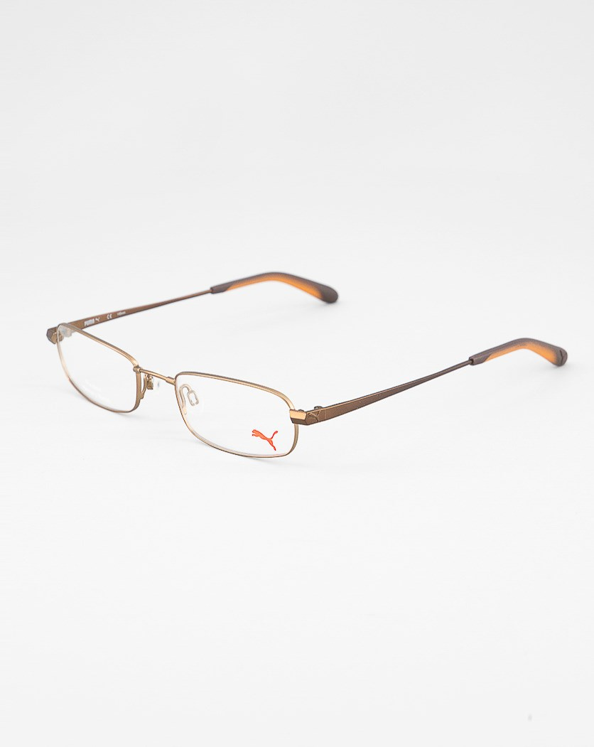 Women's Frame Eyeglasses, Brown