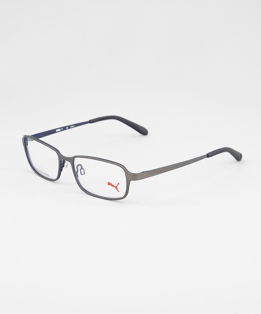 Unisex Frame Eyeglasses, Grey/Navy
