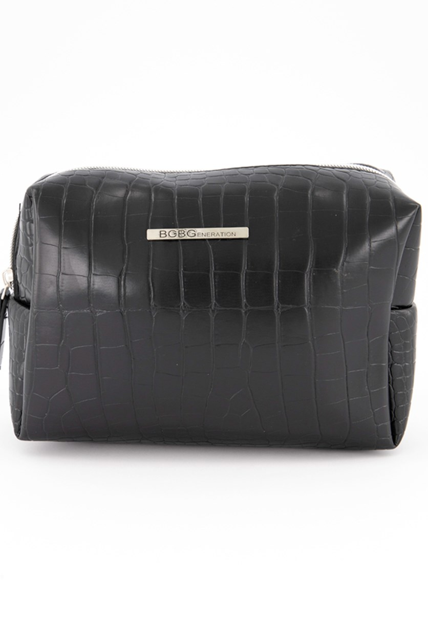 Olivia Rectangle Pouch, Black