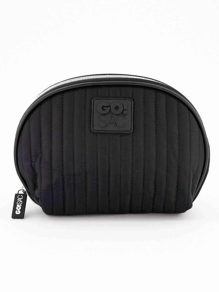 Xena Clam Shell Pouch, Black