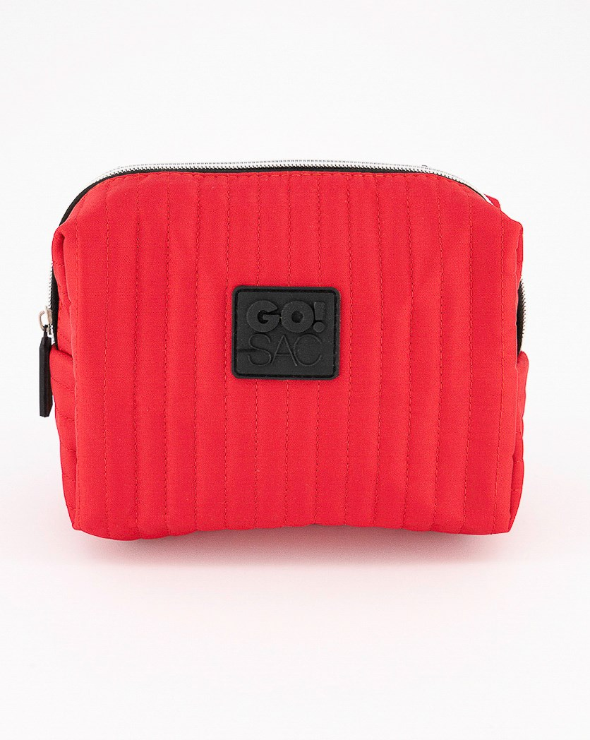 Zarina Rectangle Pouch, Red