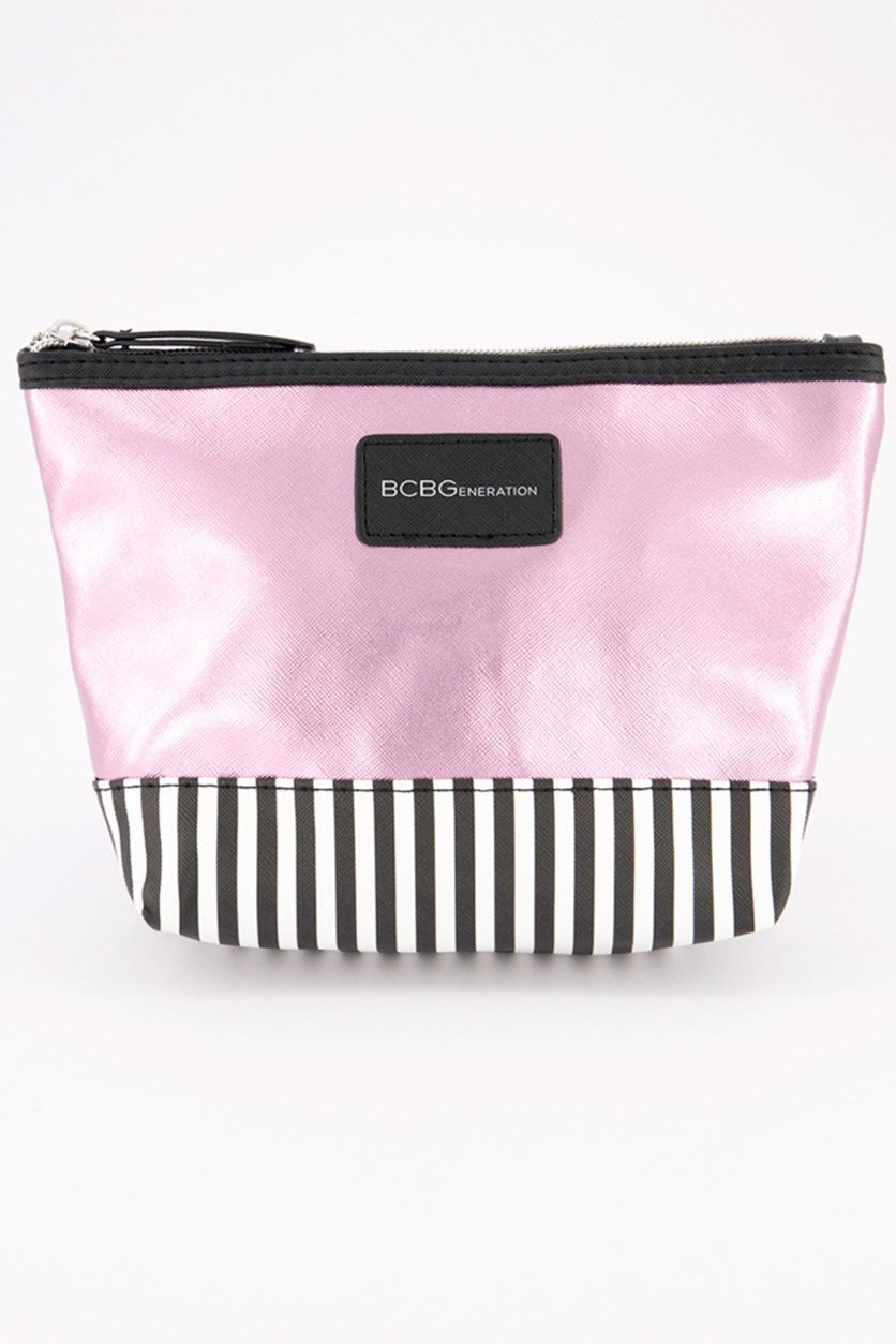Women's Small Top Zip Pouch, Pink