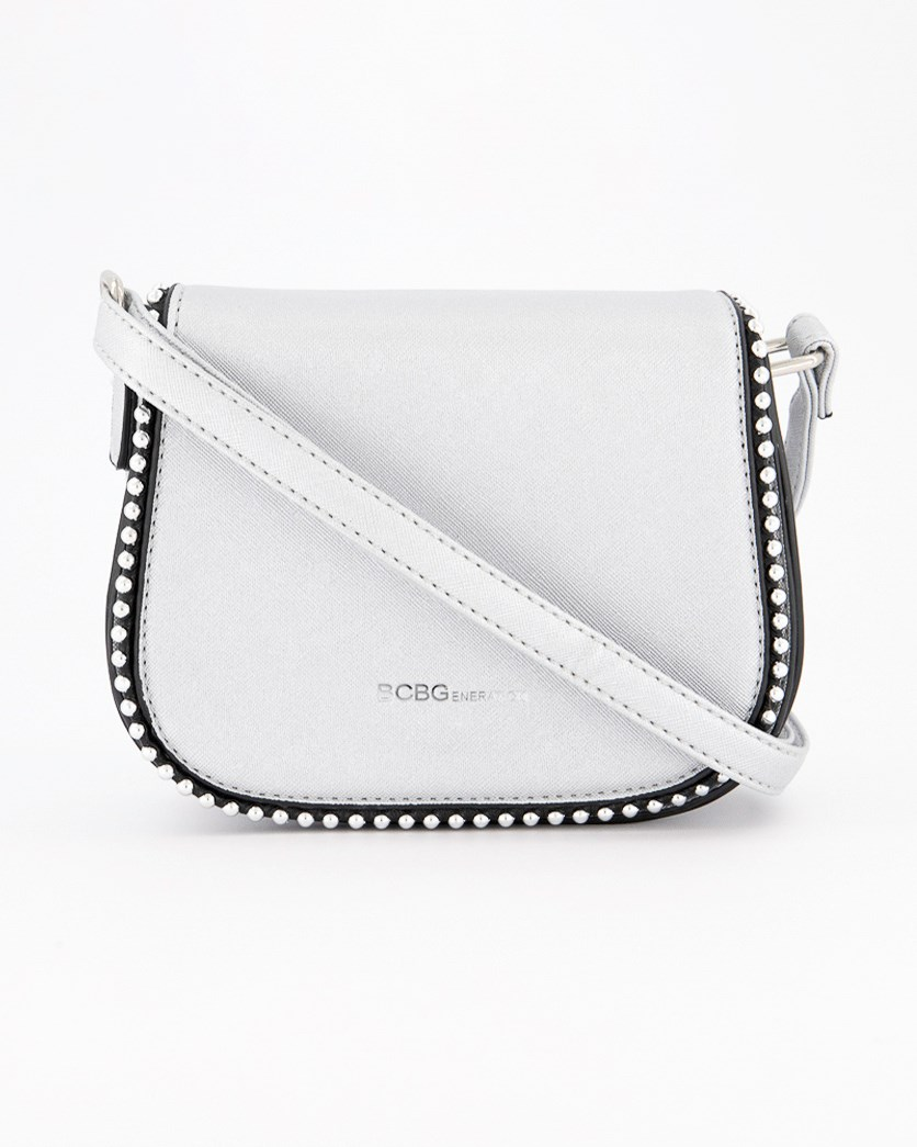 Women's Leah Cross Body Bag, Silver