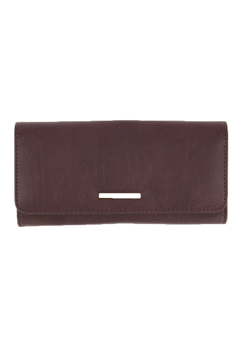 Women's Anastasia Wallet, Plum