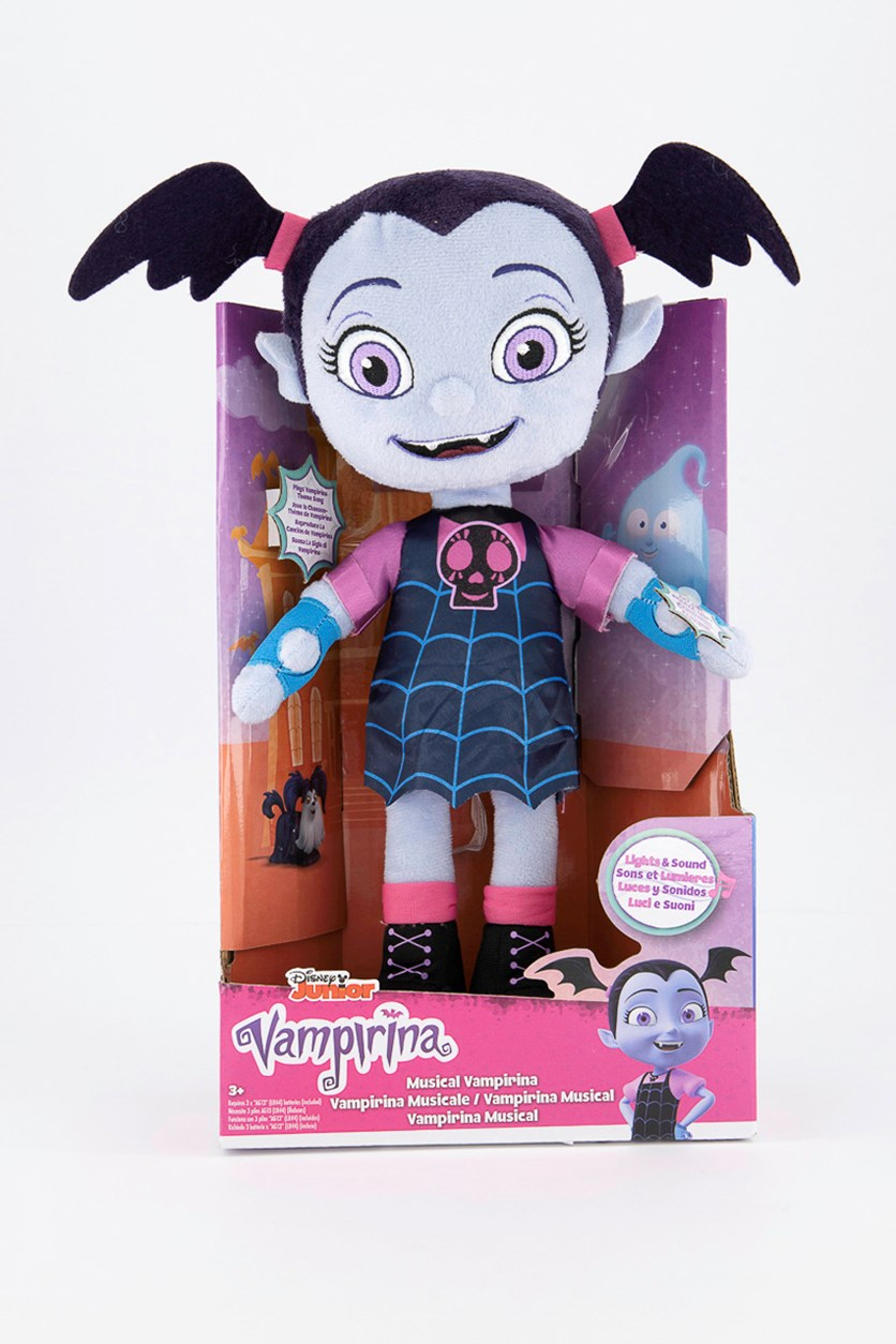 Vampirina Doll Plush, Blue/Purple