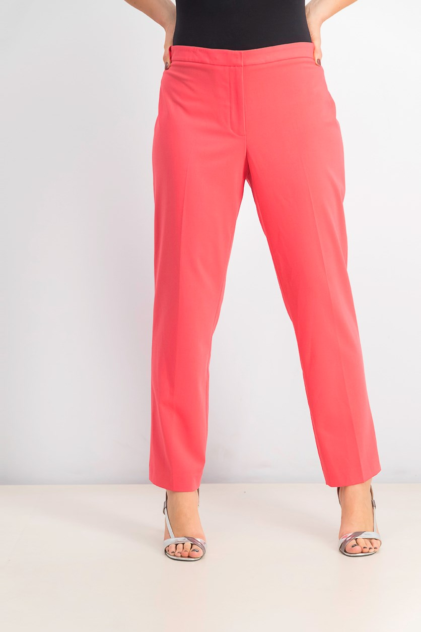 Skinny Highline Pants, Coral Pink