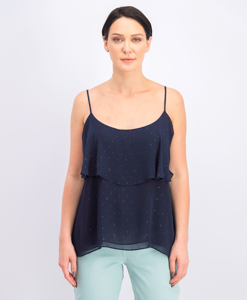 Women's Austen Tiered Camisole, True Navy