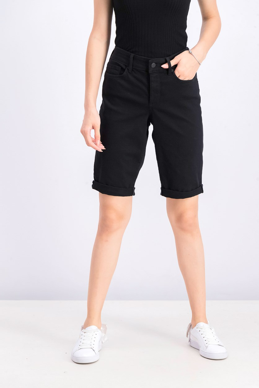 Women's Briella 11 Inch Twill Shorts, Black