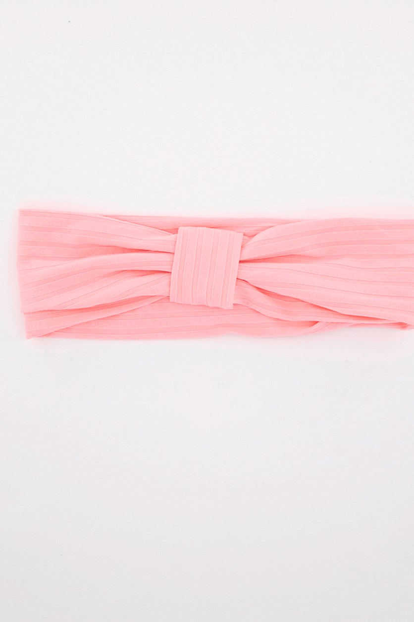 Women's Hair Twist Headband, Pink