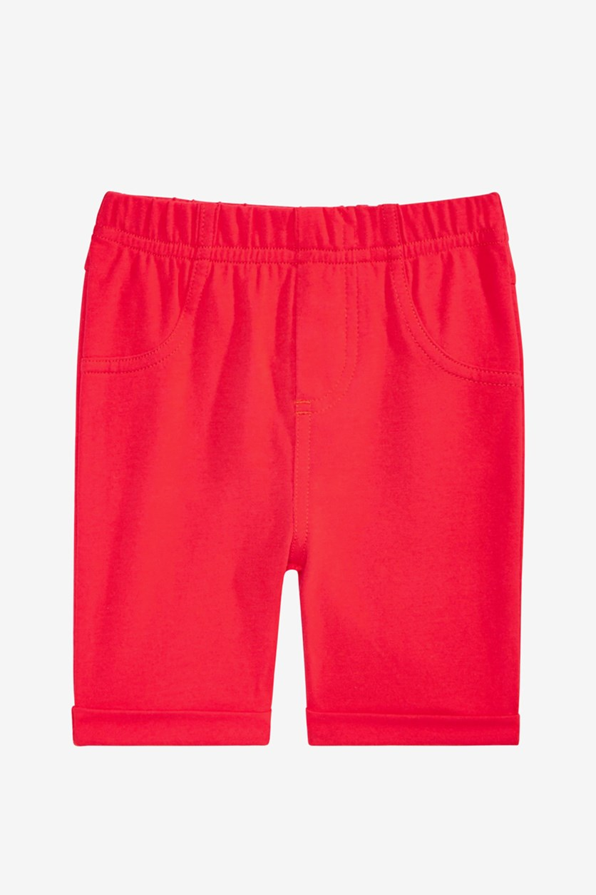 Baby Girls Pull-On Bermuda Shorts, Lollipop