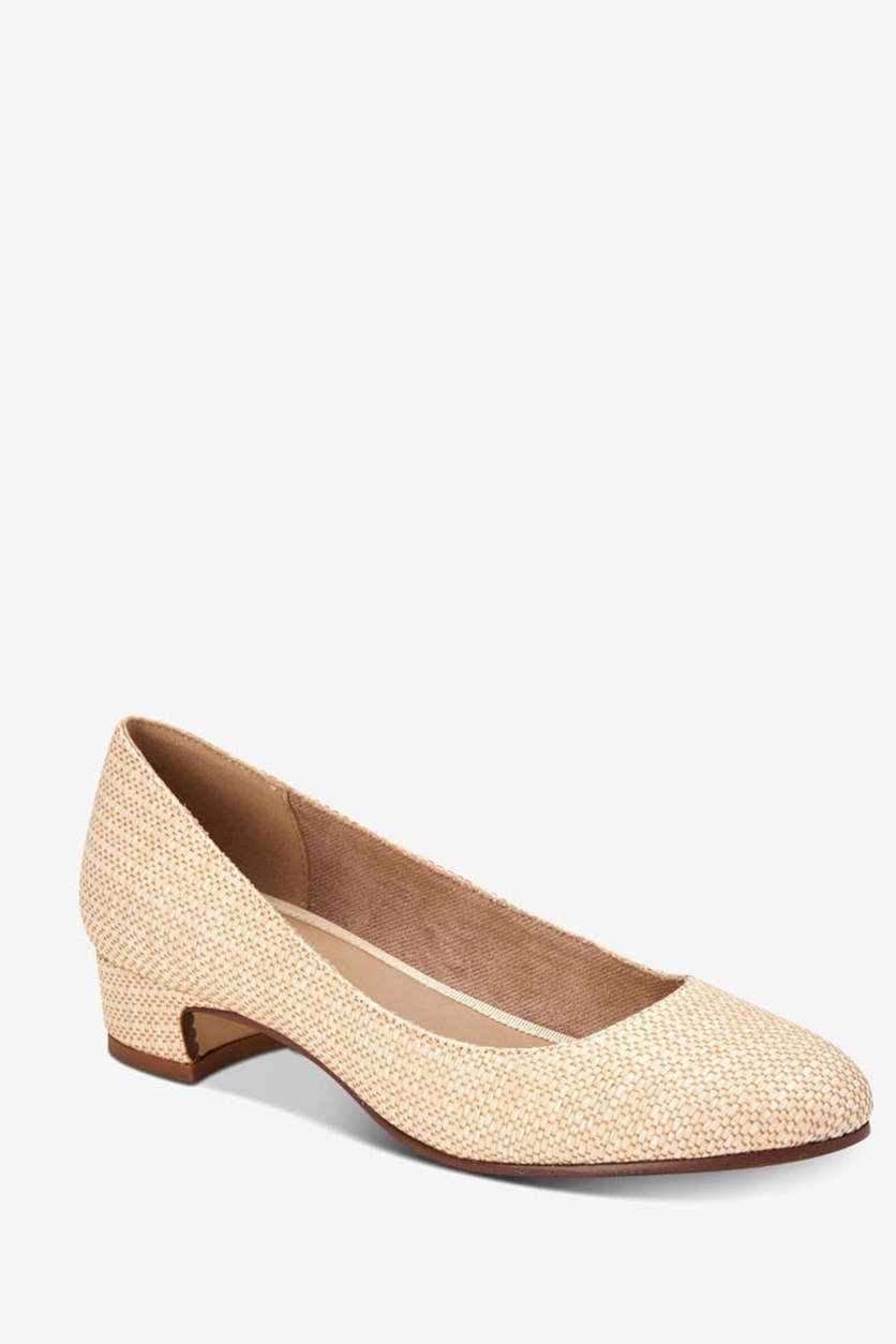 Women's Ronnie Round Toe Classic, Natural