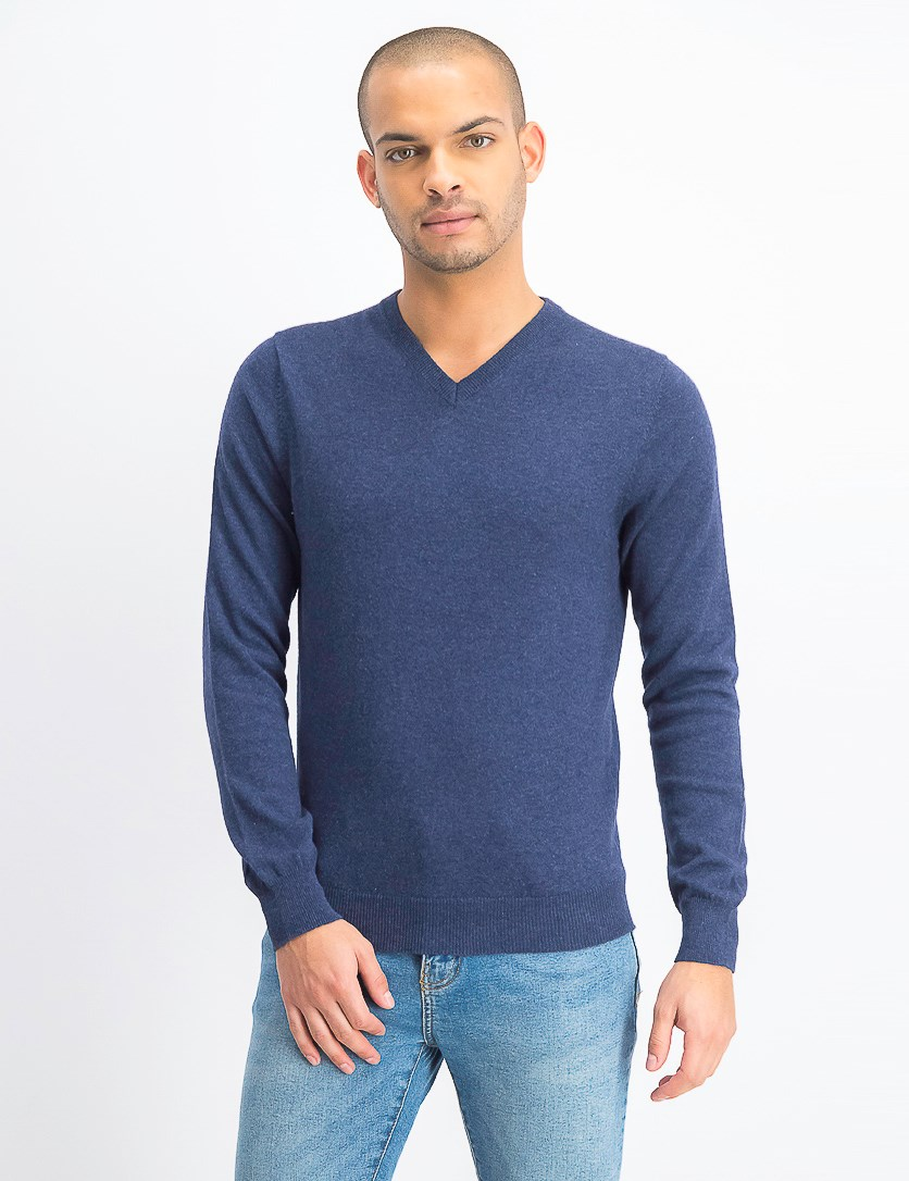 Mens Pullover Sweatshirt, Navy
