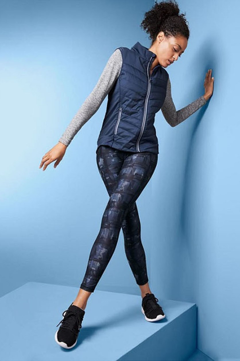Thermo Quilted Vest, Navy