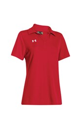 Women's Short Sleeve Sport Polo Shirt, Red