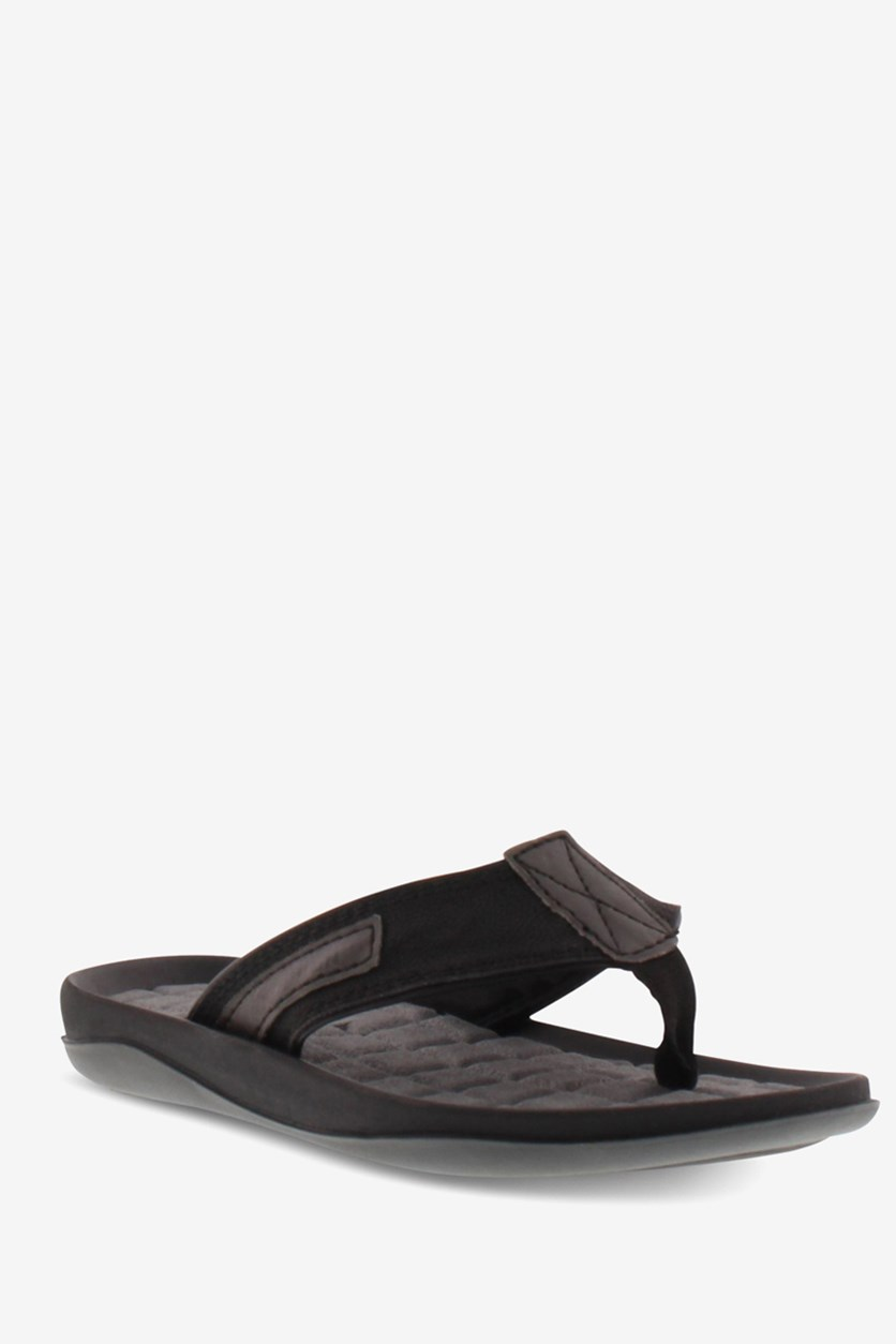 Little & Big Boys Good Guy Flip-Flop Sandals, Balck