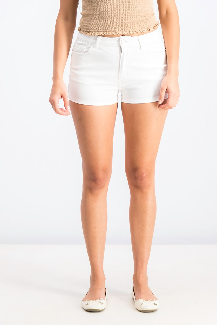 Women's Pull On Short, White
