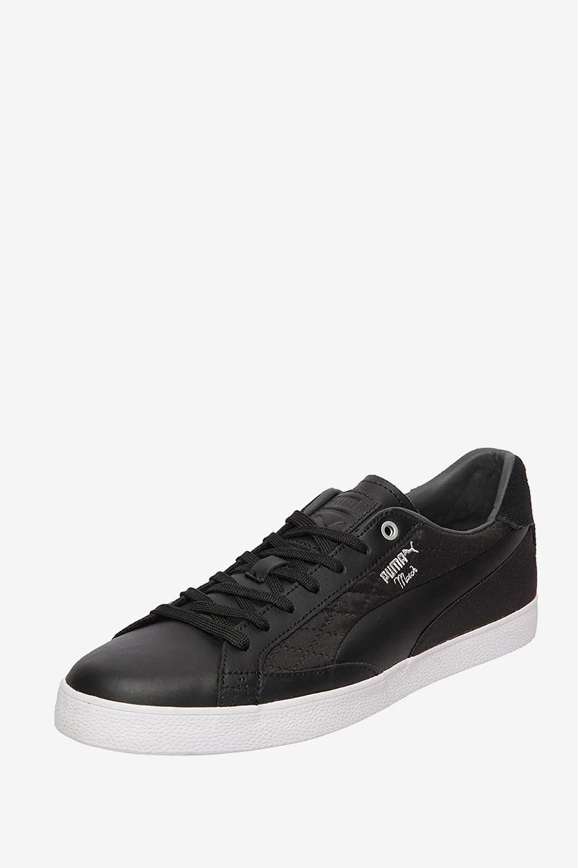 Men's Match Vulc 2 Quilted Sneakers, Black