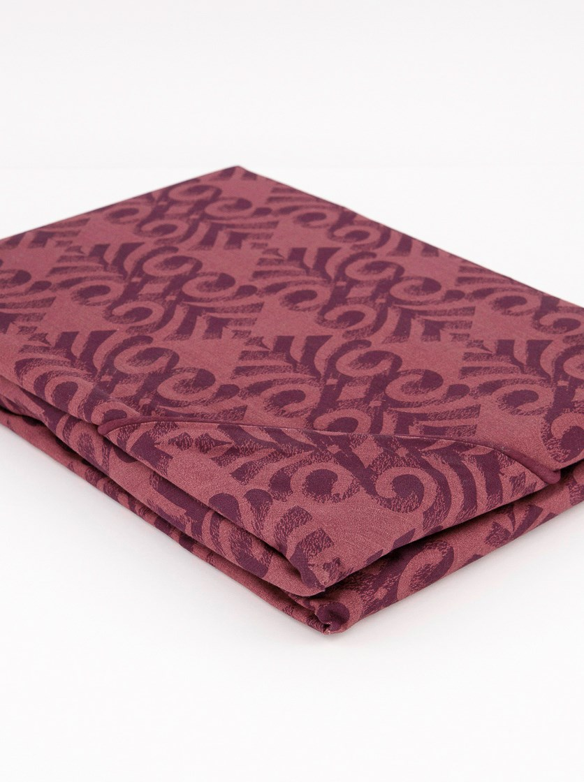 Renforce Duvet Set, 80 x 70 cm/160 x 200 cm, Maroon