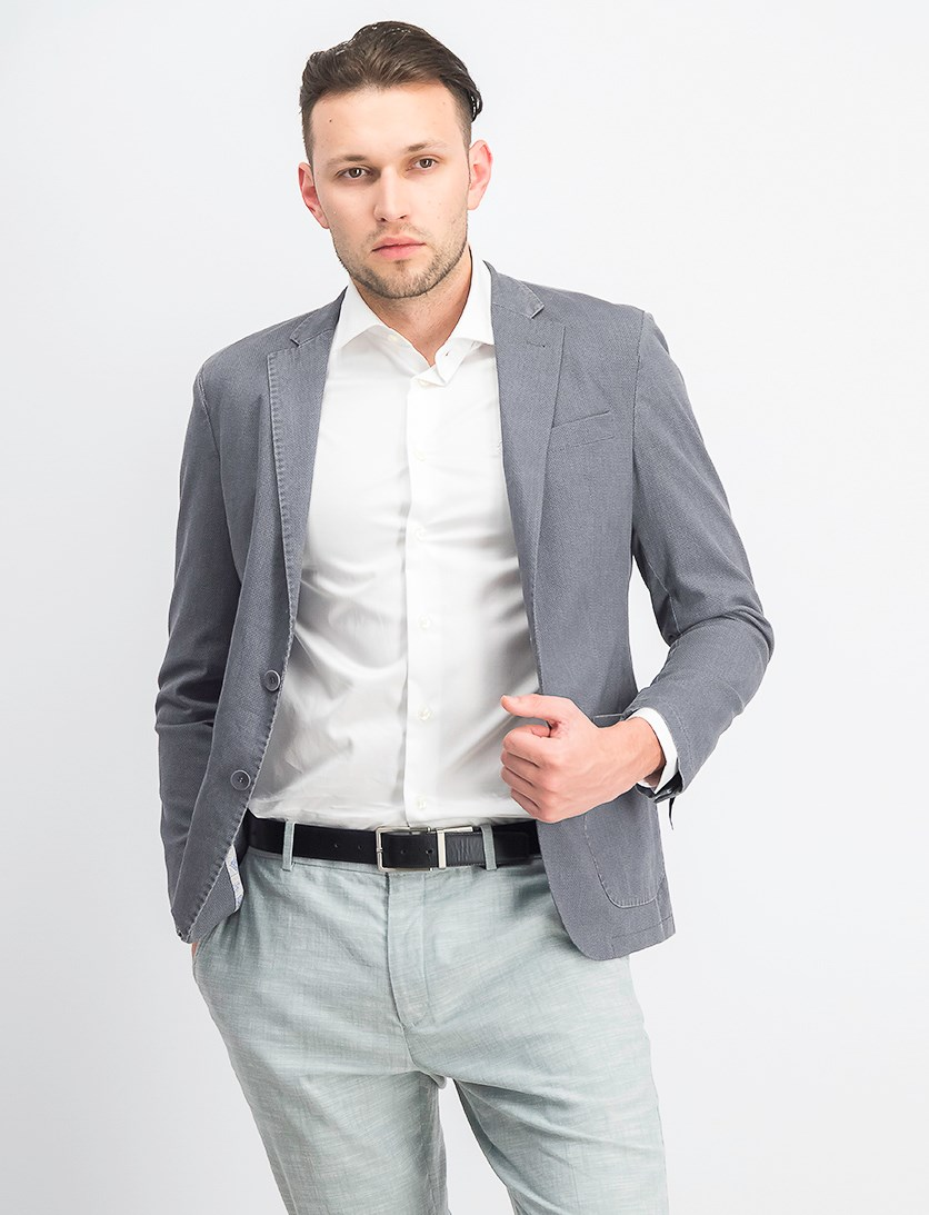 Men's Modern Fit Blazer, Cement