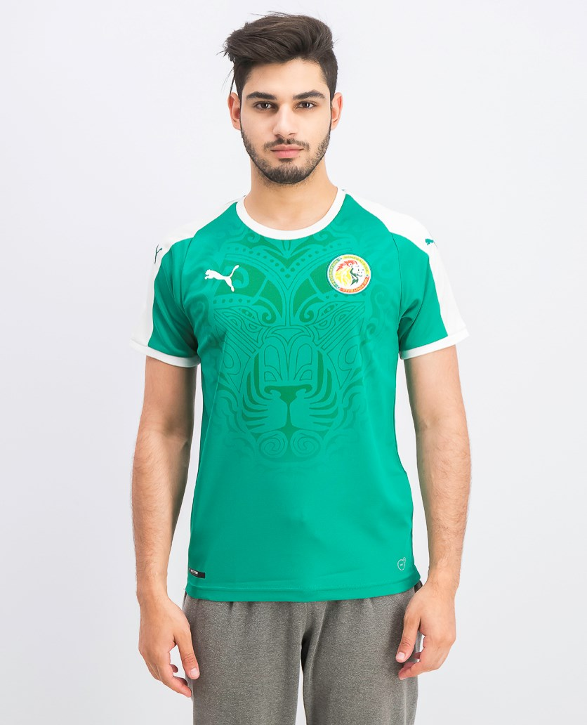 Men's Embroidered Logo T-Shirt, Green