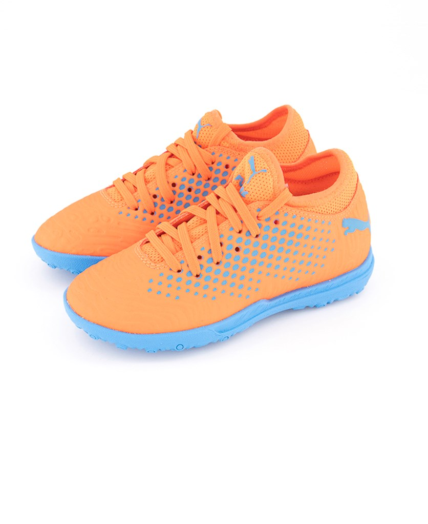 Kids Boys Junior Future Running Shoes, Blue/Orange