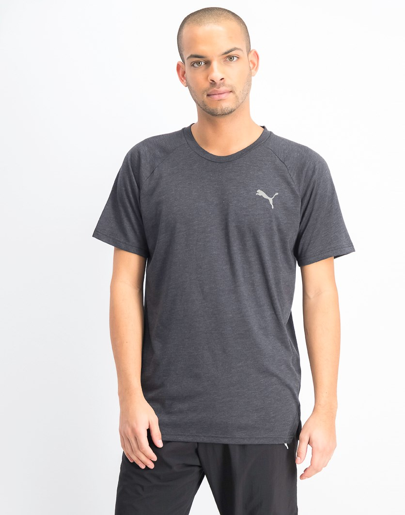 Men's Reactive Short Sleeve, Black Heather