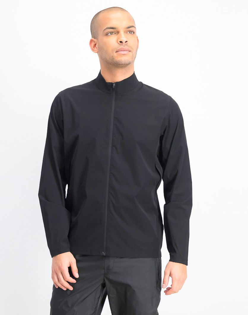 Men's Zippered Jacket, Black