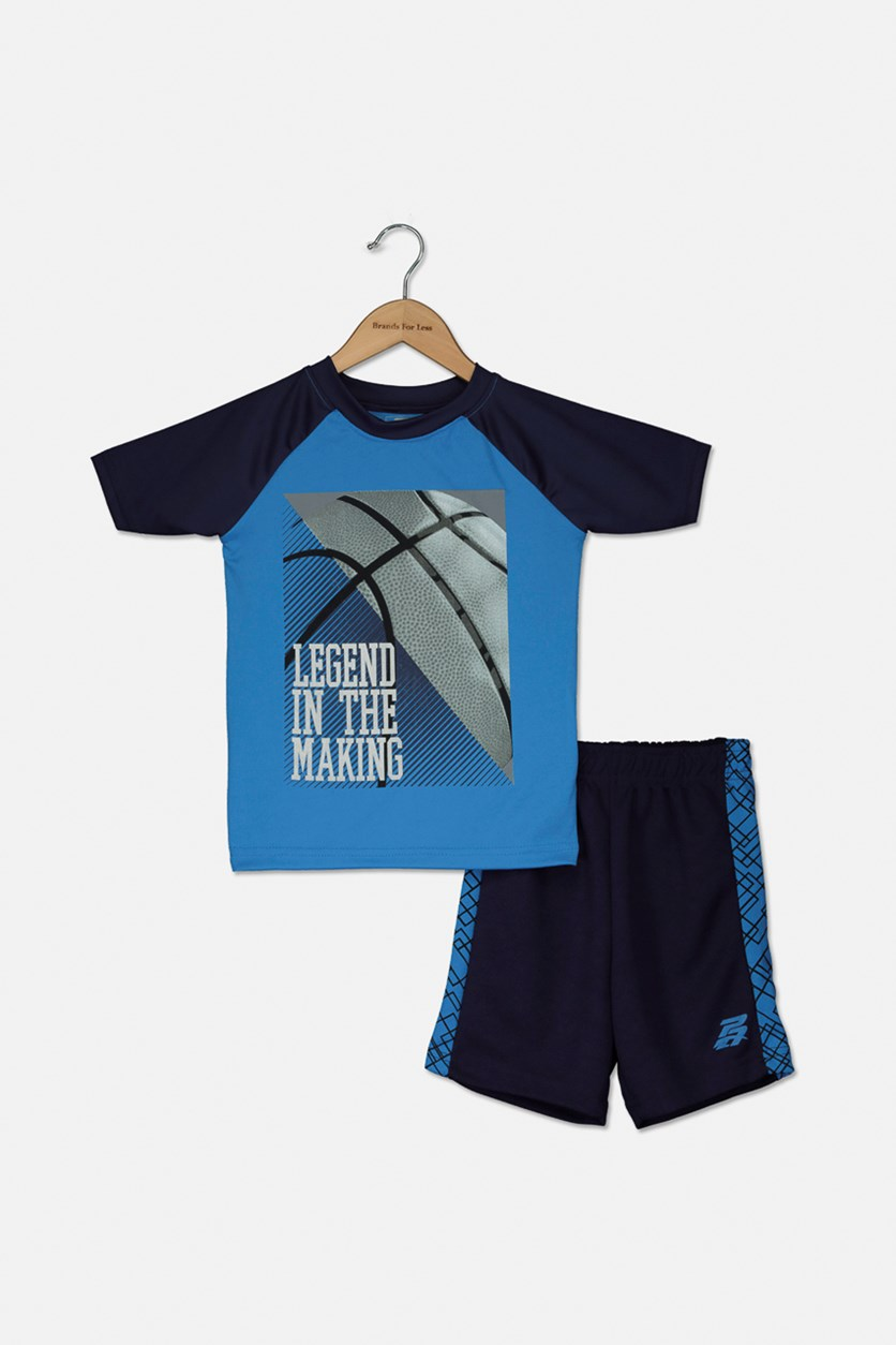 Toddler Boys' Legend In The Making 2 Pieces Set, Blue