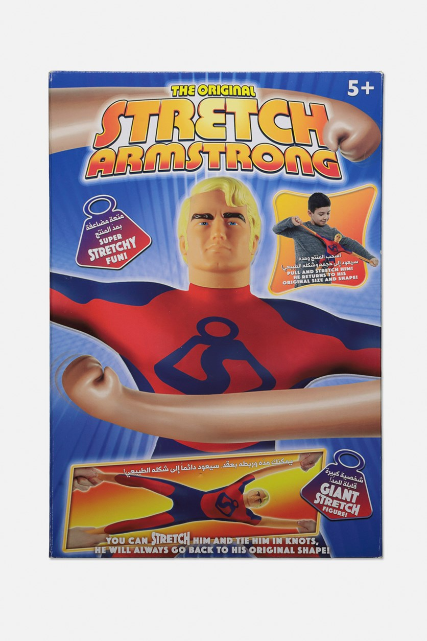 The Original Stretch Armstrong, Red/Blue