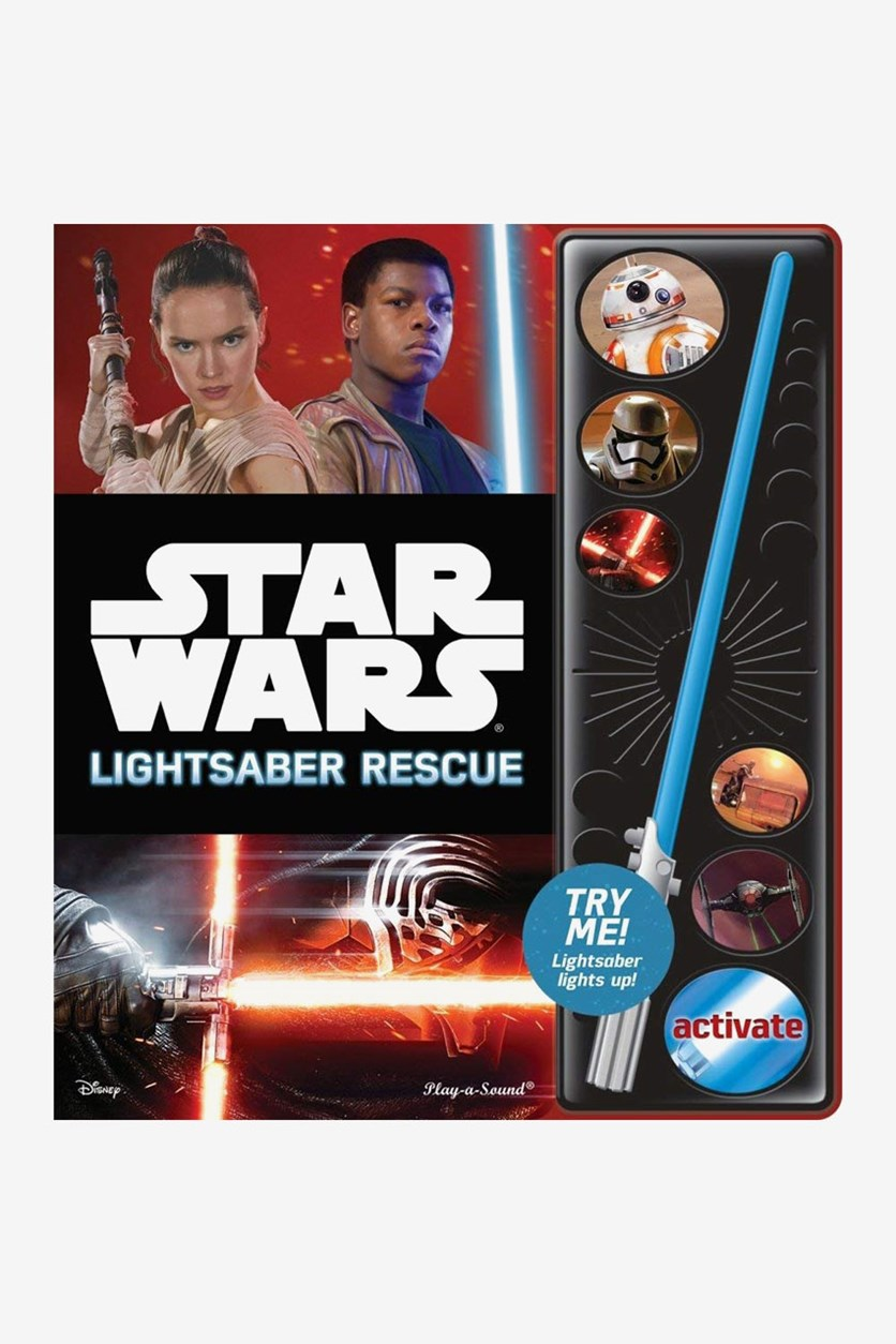 The Force Awakens Little Sound Light Book, Black Combo