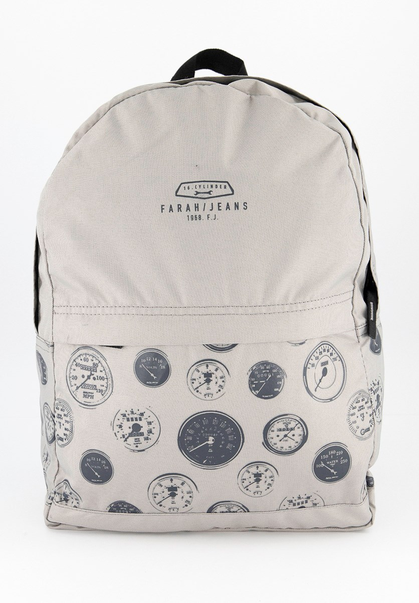 Kid's Boys Graphic Marl Backpack,  Alloy