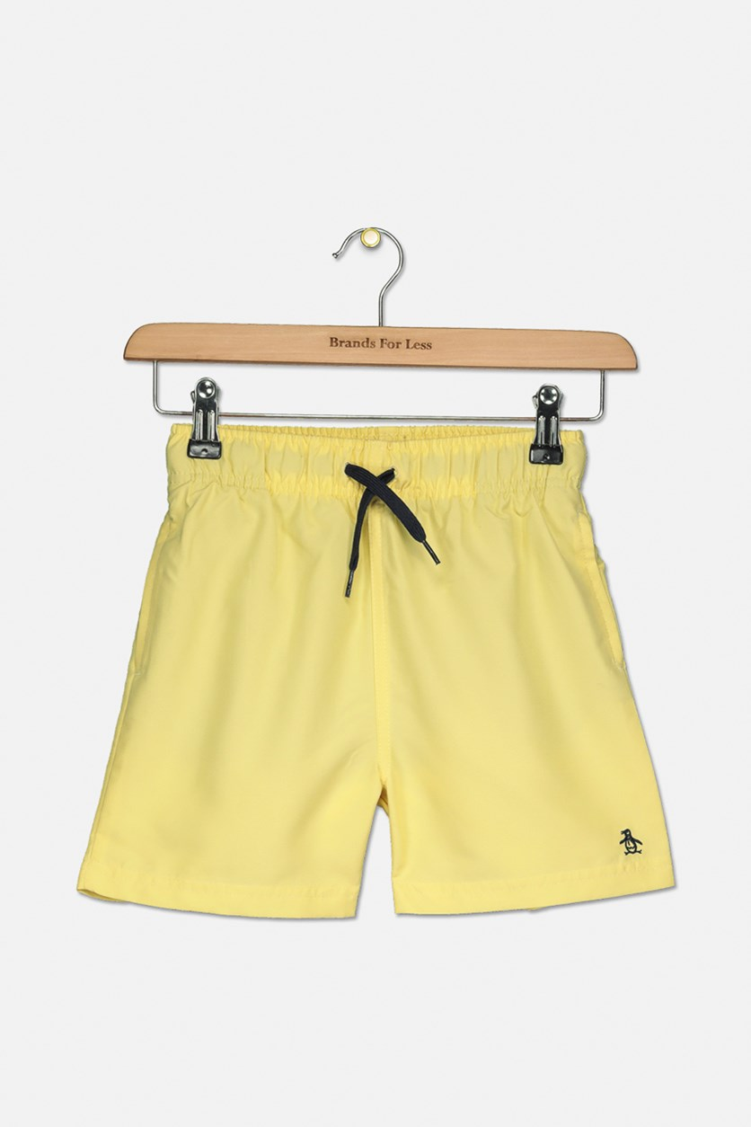 Boys Pull On Board Shorts, Pineapple Slice