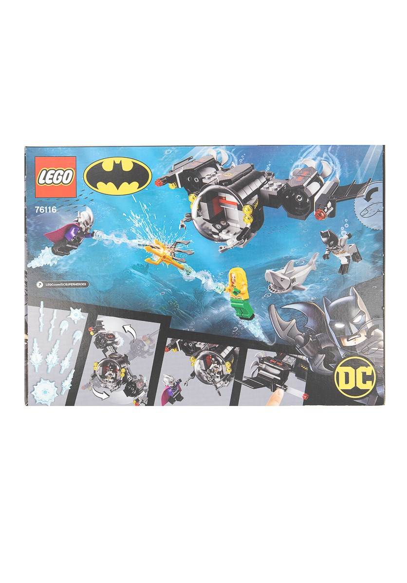 Batman Batsub And The Underwater Clash Set 76116, Black Combo