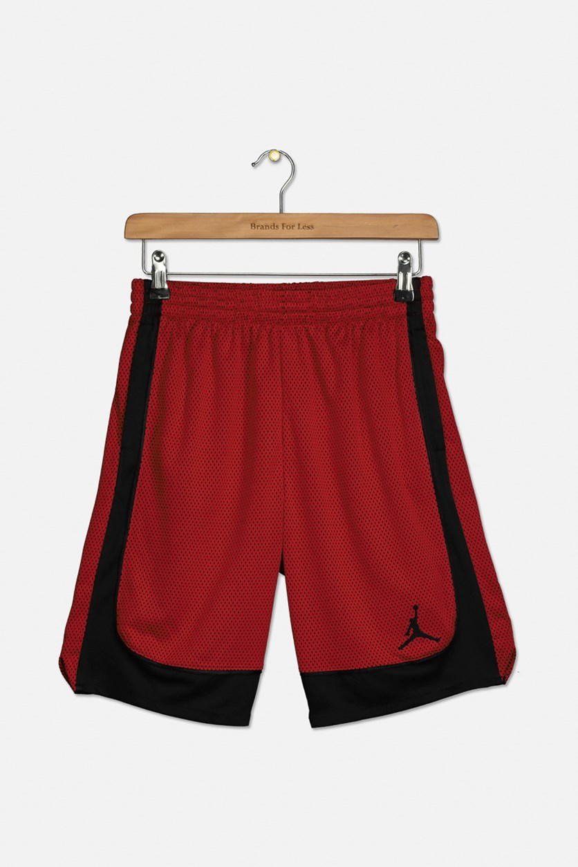 Big Boys Air Colorblocked Shorts, Red