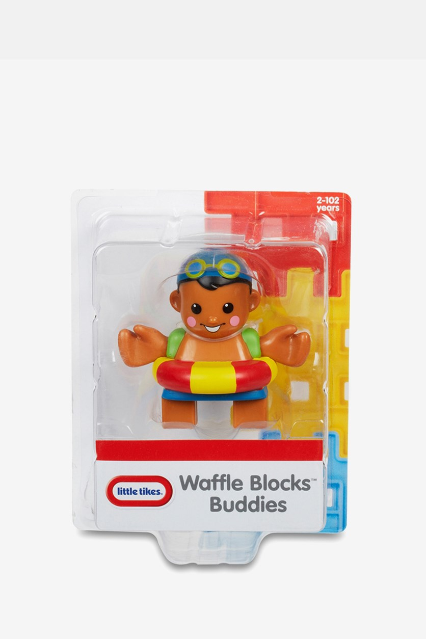 Waffle Blocks Action Figure, Blue Combo
