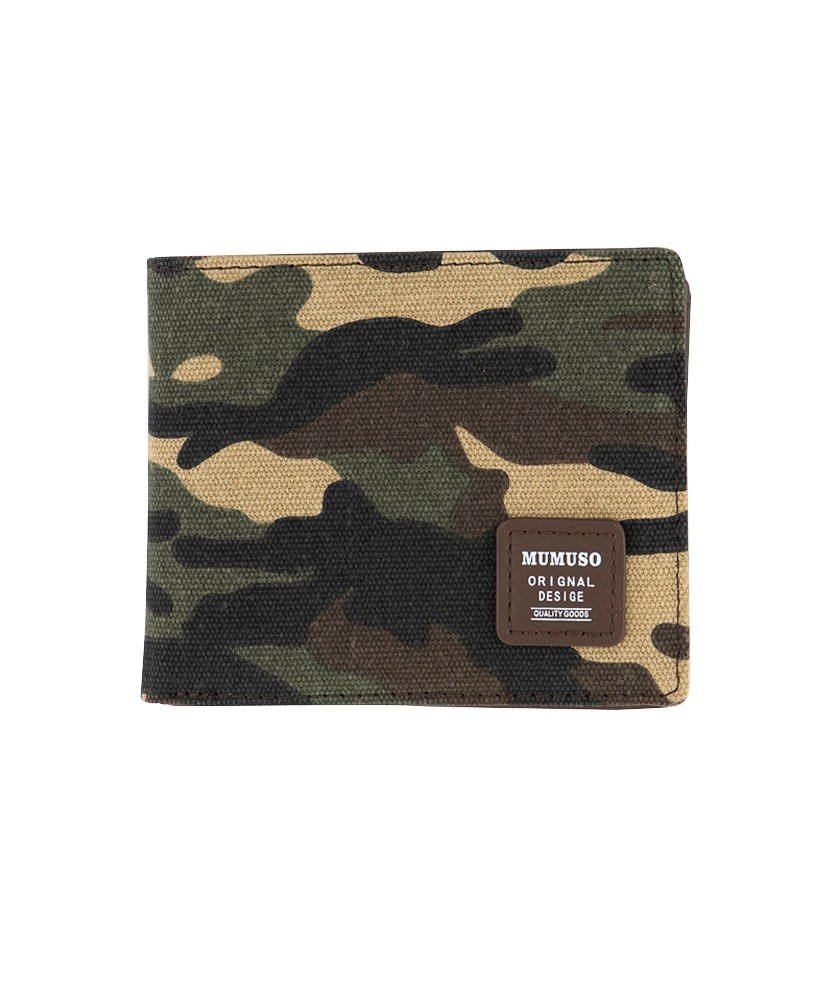Men's Wallet, Camouflage/Army Green