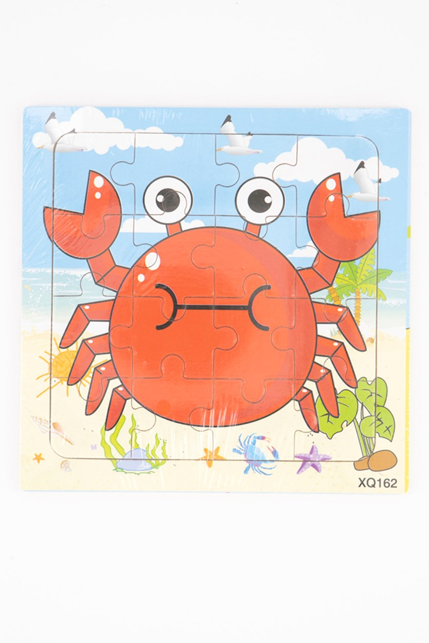 Crab Jigsaw Puzzle For Kids, Combo
