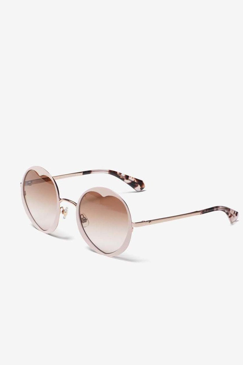 Women's Rosarias Sunglass, Pink/Brown