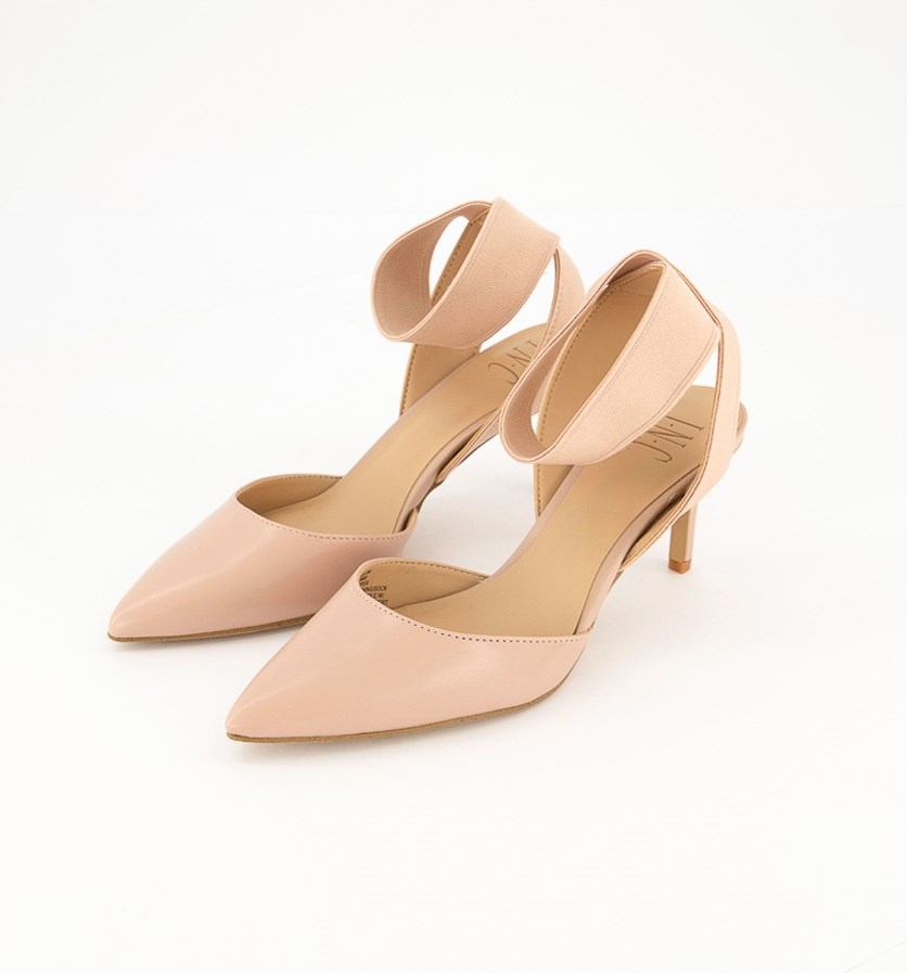 Women's Layloni Stretch Two-Piece Pumps, Pink Bloom Leather