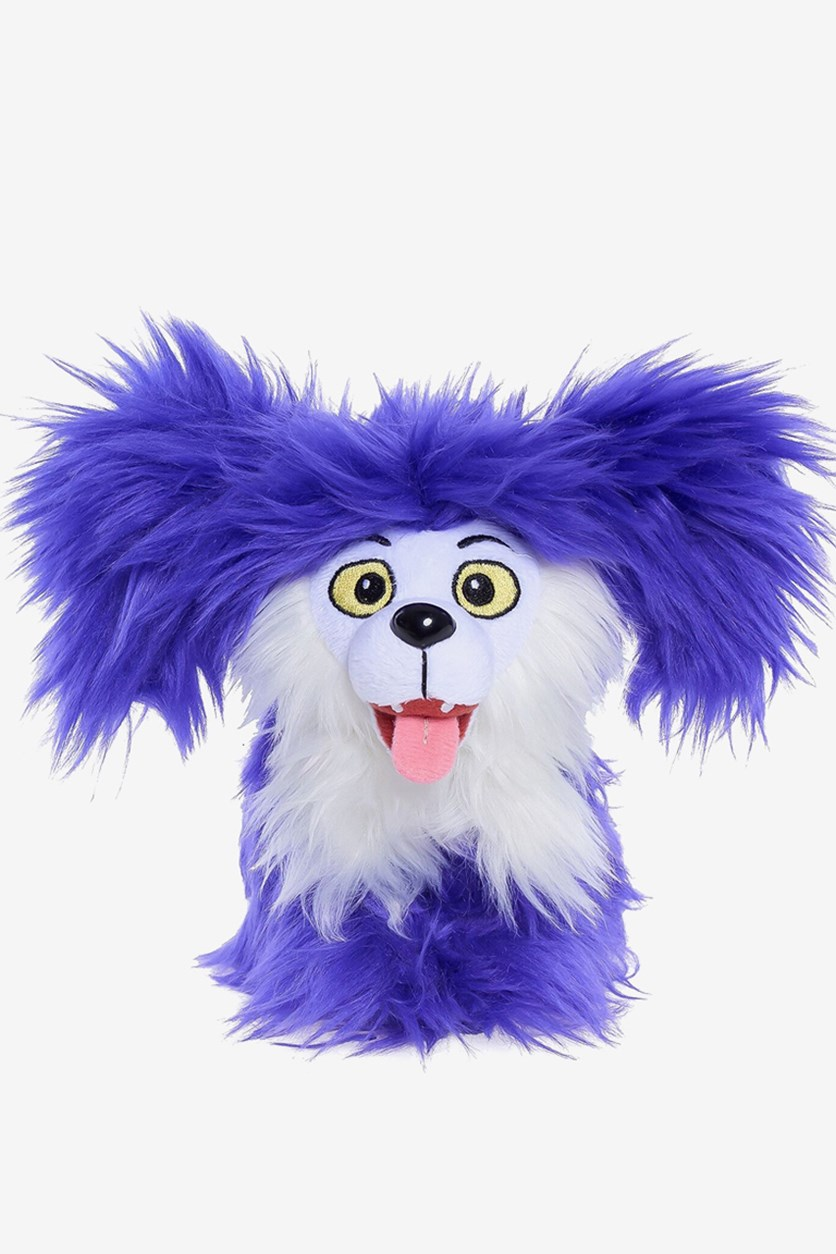 Disney Vampirina Wolfie Bean Plush, Purple/White