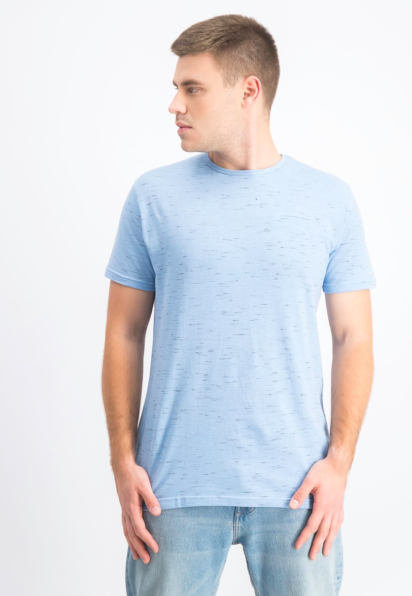 Men's Short Sleeve T-Shirt, Light Blue