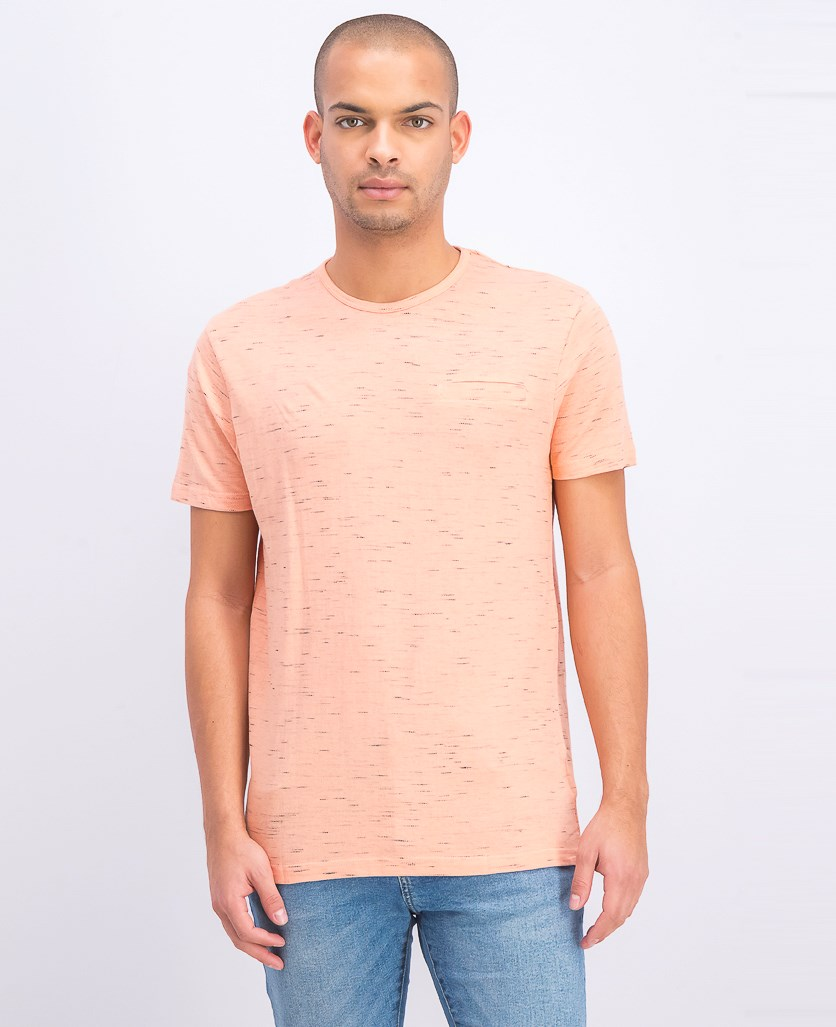 Men's Shortsleeve T-Shirt, Salmon