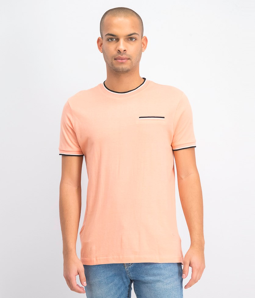 Men's Shortsleeve Shirt, Rose
