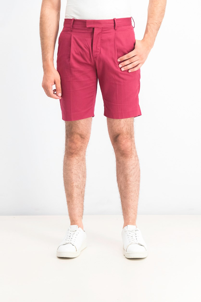 Men's Flits Front Chino Short, Burgundy