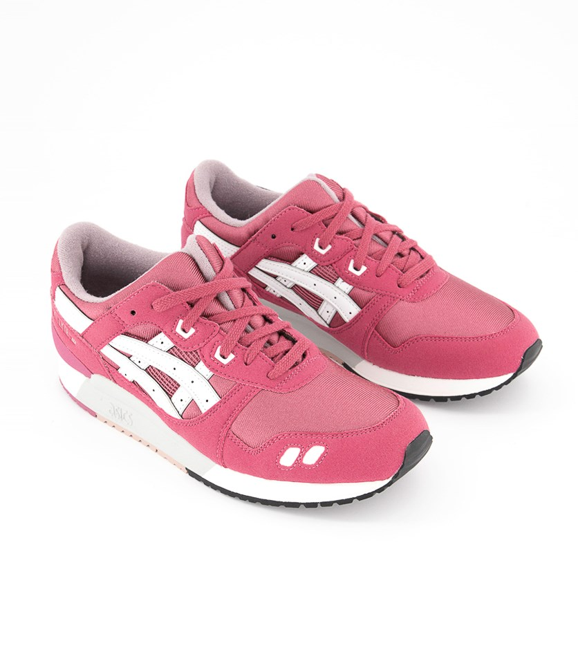 Big Girls Gel Lyte Shoes, Malaga/White