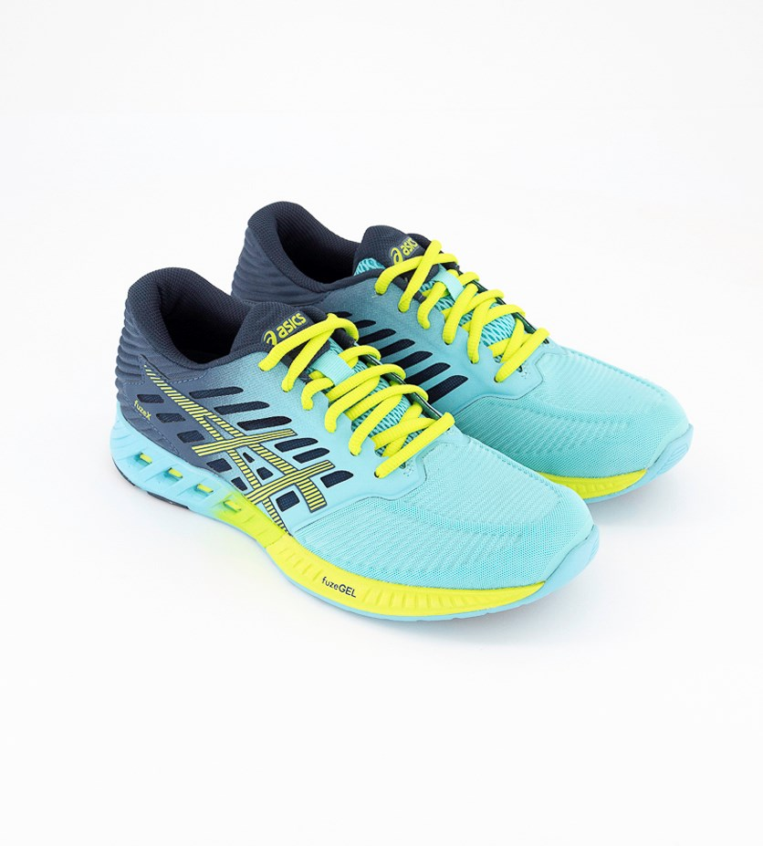 Women's Fuzex Running Shoes, Turquoise