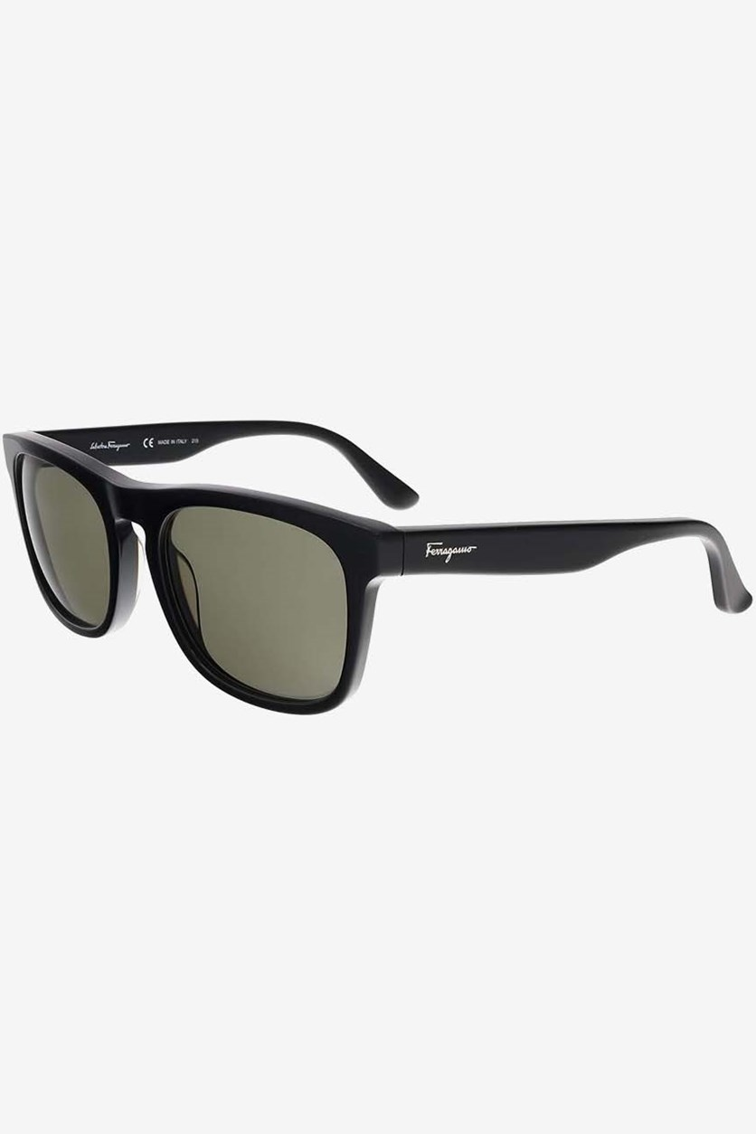 Men's Full Rim Sunglass, Black