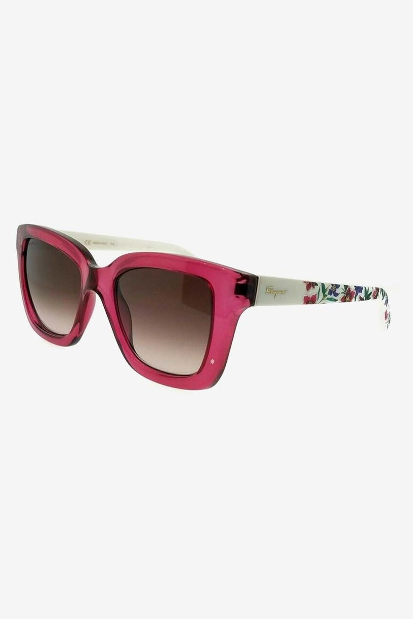 Women's Cyclamen Sunglasses, Pink/White