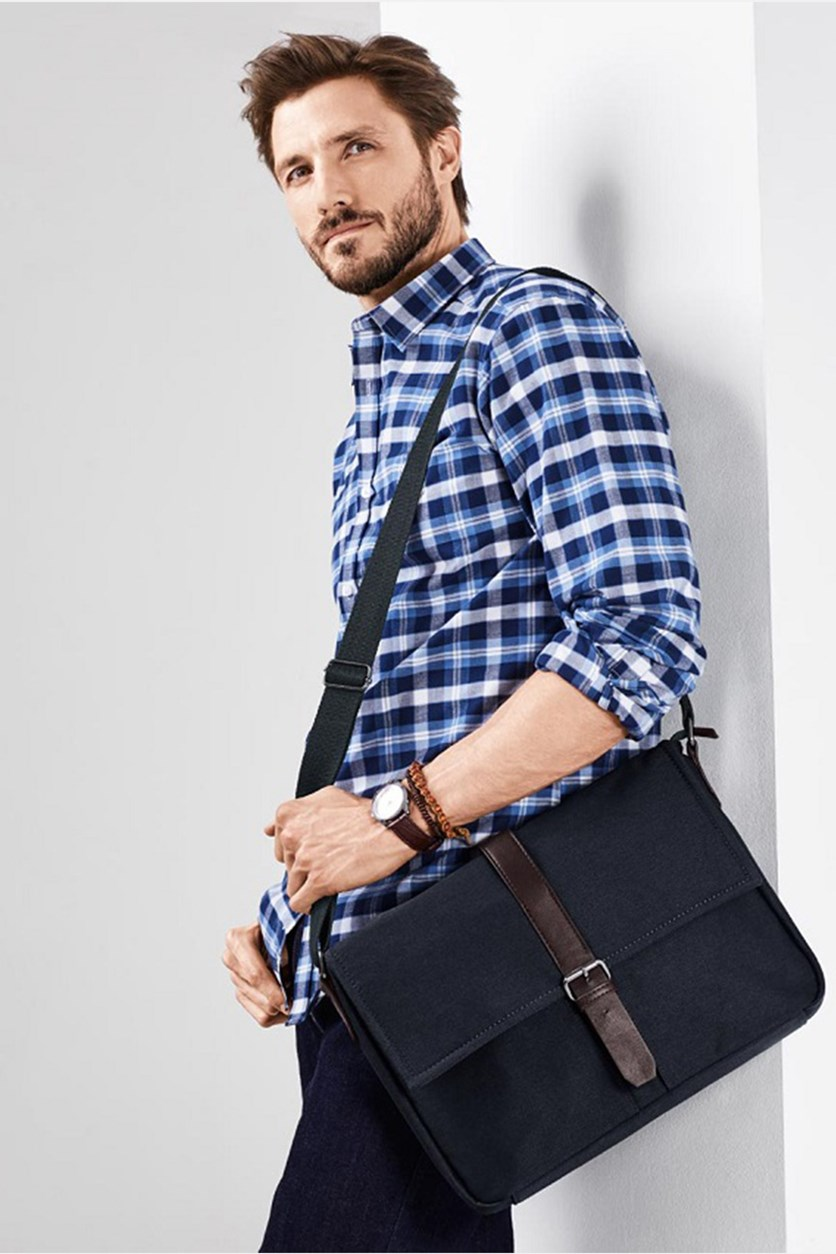 Men's Cross Bag, Navy