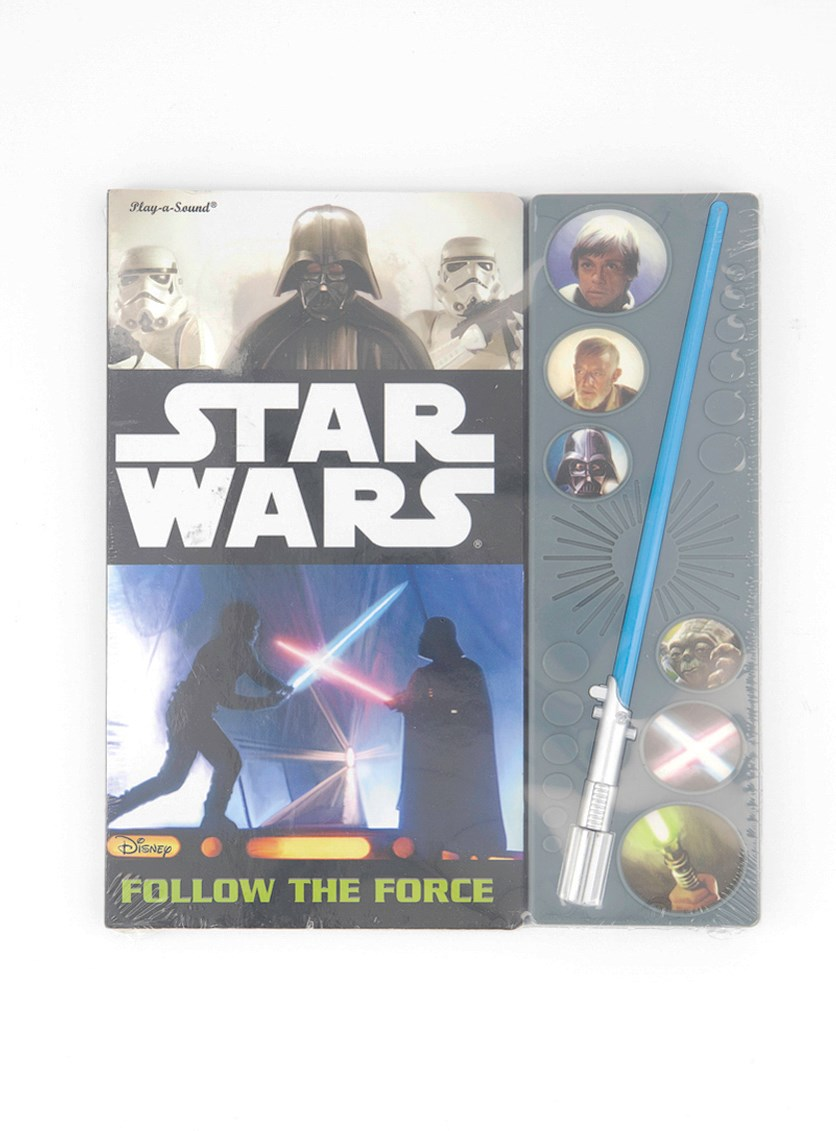 Little Light Saber Book, Black Combo